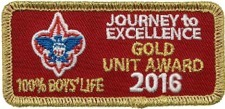 Journey To Excellence Gold Award