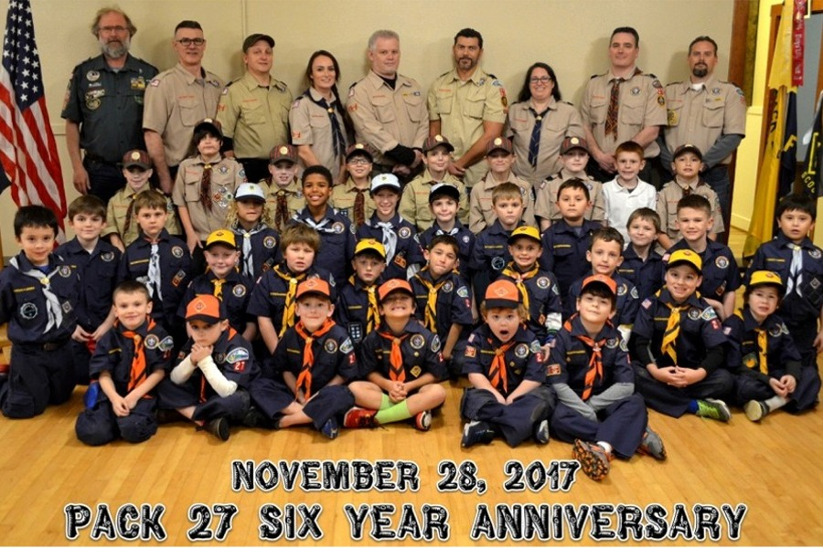 Pack 27's 6 year Anniversary
