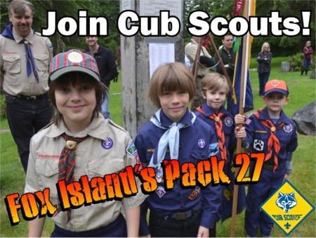 Pack 27 New Member Open House